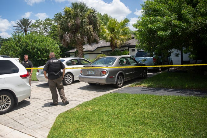 Collier County Sheriff's Office is investigating a death, Wednesday, July 3, 2019, at a home on the 1900 block of Imperial Golf Course Boulevard in North Naples.