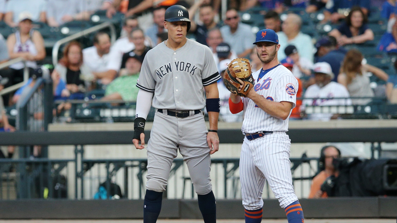 timeless design 8d6c2 e7af9 New York Yankees: Home run streak ends in Subway Series loss ...