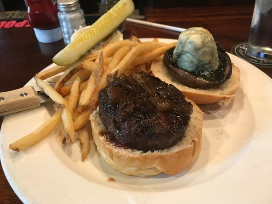 The Blue Monkey Burger from Blue Monkey Tavern in Merchantville is Camden County's best burger.
