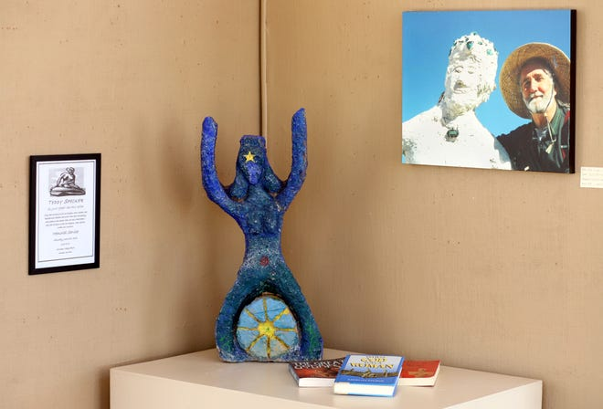 Columbus artist Ted Specker's work has been brought to the Deming Art Center in part by friend Sylvia Brenner. Specker died in 2006 just short of 71. His sculptures are now on exhibit along with photographs of his life-long work.