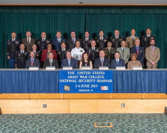 Debbi Moore of Las Cruces (first row, center) joined the U.S. Army War College student body for the National Security Seminar (NSS), June 3 through 6, 2019.