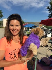 A happy buyer found a sweater fir for her four-legged favorite.