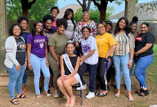 St. Landry Parish students enrolled at Northwestern State University gathered for an end-of-the-school-year event May 2, celebrating birthdays, the 2019 graduates and successful school year completion. The Sanctuary No. 1 is a home away from home for St. Landry scholars and provides residential, academic, peer, social and spiritual support services to assist with not only student retention but student success in a collegiate environment. Featured in the photo are Miss Louisiana and NSU alum Holli Conway.