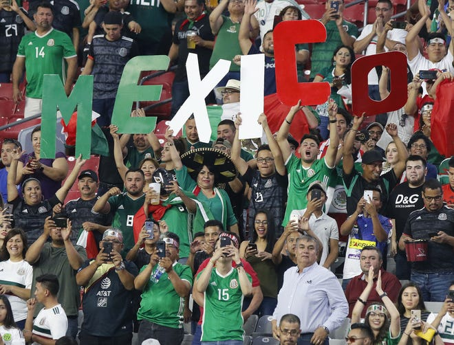 Mexico headlines four teams headed to Glendale for Gold Cup soccer quarterfinals