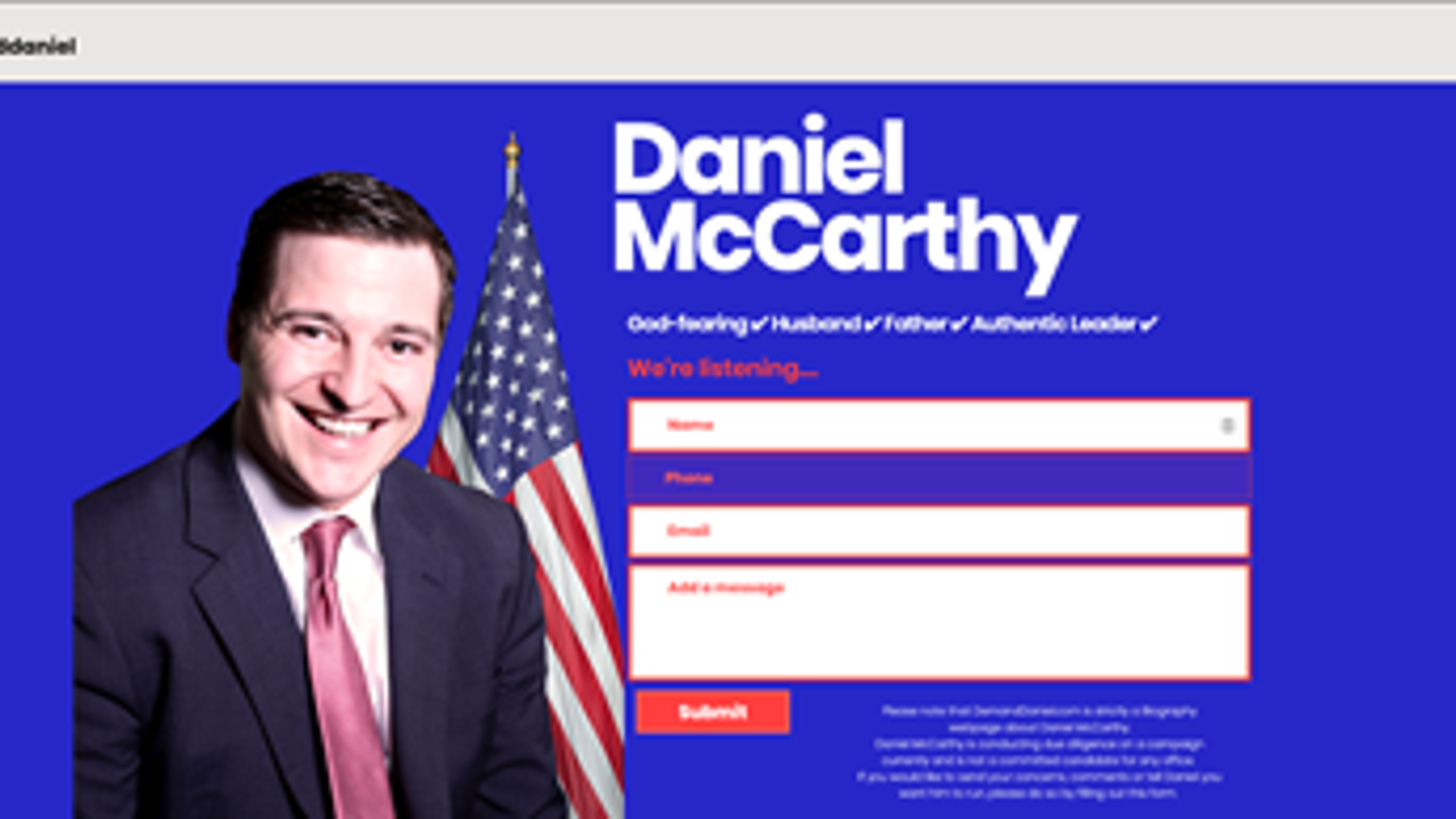 Forget Greenland — Arizona GOP challenger wants to annex Mexico. And (LOL) he's serious.