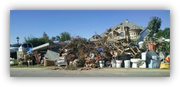 A pile of bulk trash in El Mirage.