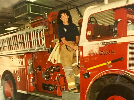 Gretchen Chalmers worked at Tempe's busiest stations. In 1999, she was promoted to fire engineer and the next year she was certified as a paramedic.
