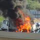 Dump truck fire closes Loop 101 southbound ramp to U.S. 60 in Tempe