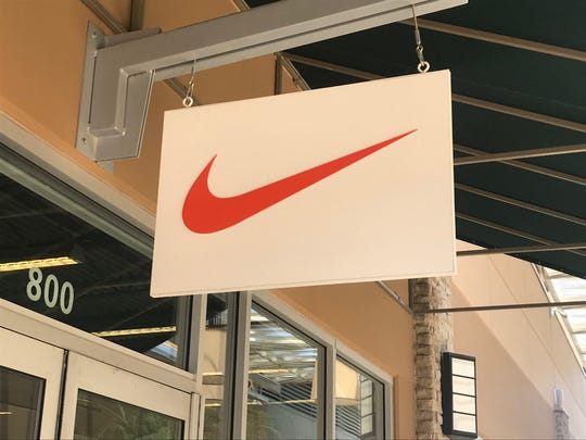 A Nike store in Premium Outlets Way