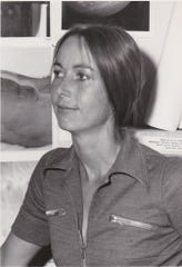 Baerbel Lucchitta early in her career with the USGS Astrogeology Branch in Flagstaff.