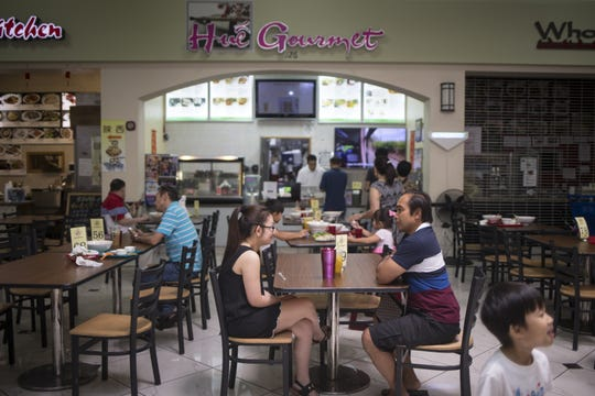 Hue Gourmet (in Mekong Plaza food court), 66 S. Dobson Road, Mesa.