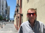 Jerry Whitlock of Reno purchased a ticket for the initial Streamliner bus trip from Reno to Phoenix on July 3, 2019.