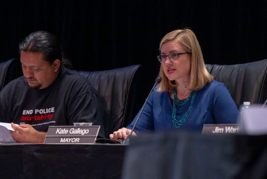 Councilman Carlos Garcia didn't outflank Mayor Kate Gallego on the investigative civilian review board proposal. He emboldened her.
