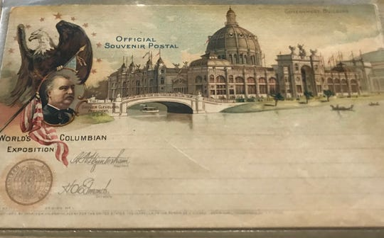 A postcard from the Chicago World's Fair in 1893.