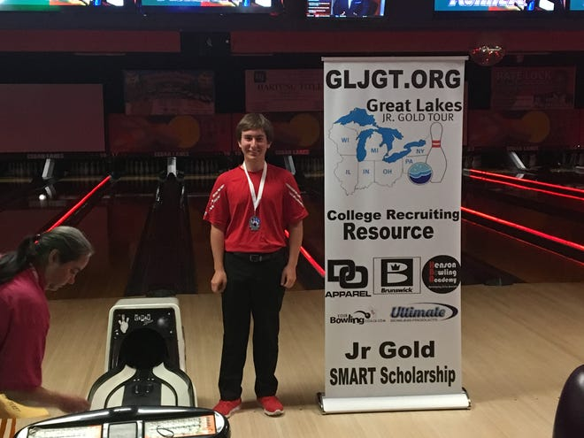 Port Clinton senior Rok Scott finished second at the Great Lakes Junior Gold Tour event in Sandusky.