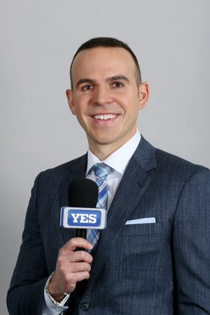Fishkill native and YES Network broadcaster Ryan Ruocco will be the temporary radio voice of the Yankees on Thursday, filing in for John Sterling for four games.