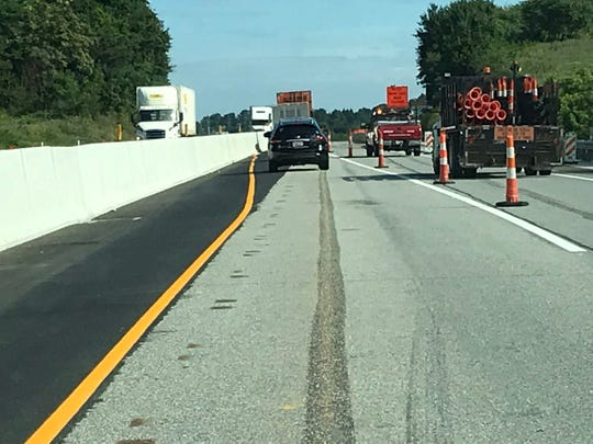Crews will be working through late afternoon today on Interstate 83 to make repairs following an early morning crash.