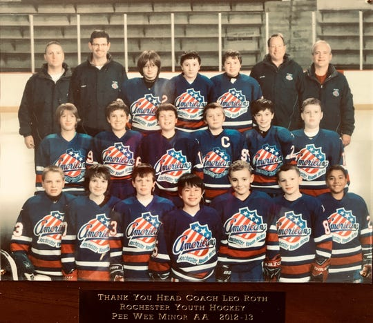 Those were the days: 2012-13 Rochester Youth Hockey AA travel team.