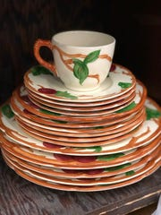 Franciscan china will be sold at the Saint's Place sale in Pittsford.