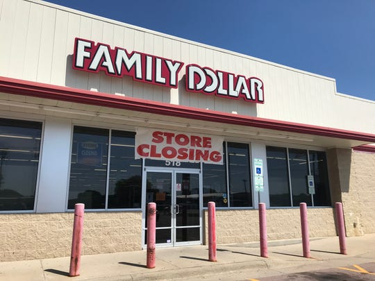 The Family Dollar store at 518 N. Kiwanis Ave. in Sioux Falls.