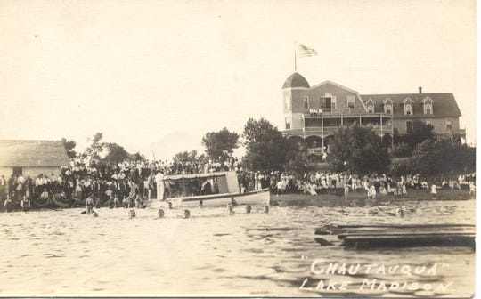 The Lake Madison Chautauqua was a popular destination. On July 4, 1919 a boat departed from the grounds and sunk, killing nine people.