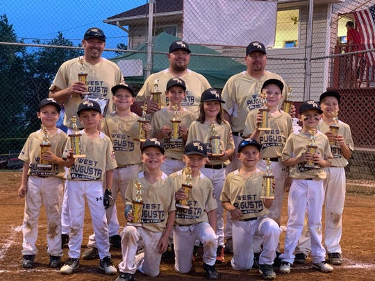 West Augusta won the Cal Ripken District 4 rookie title championship to advance to the state tournament.