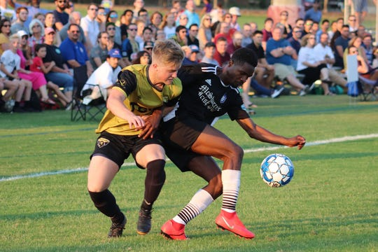 Tallahassee Soccer Club plays during one of its packed out home games in College Town.
