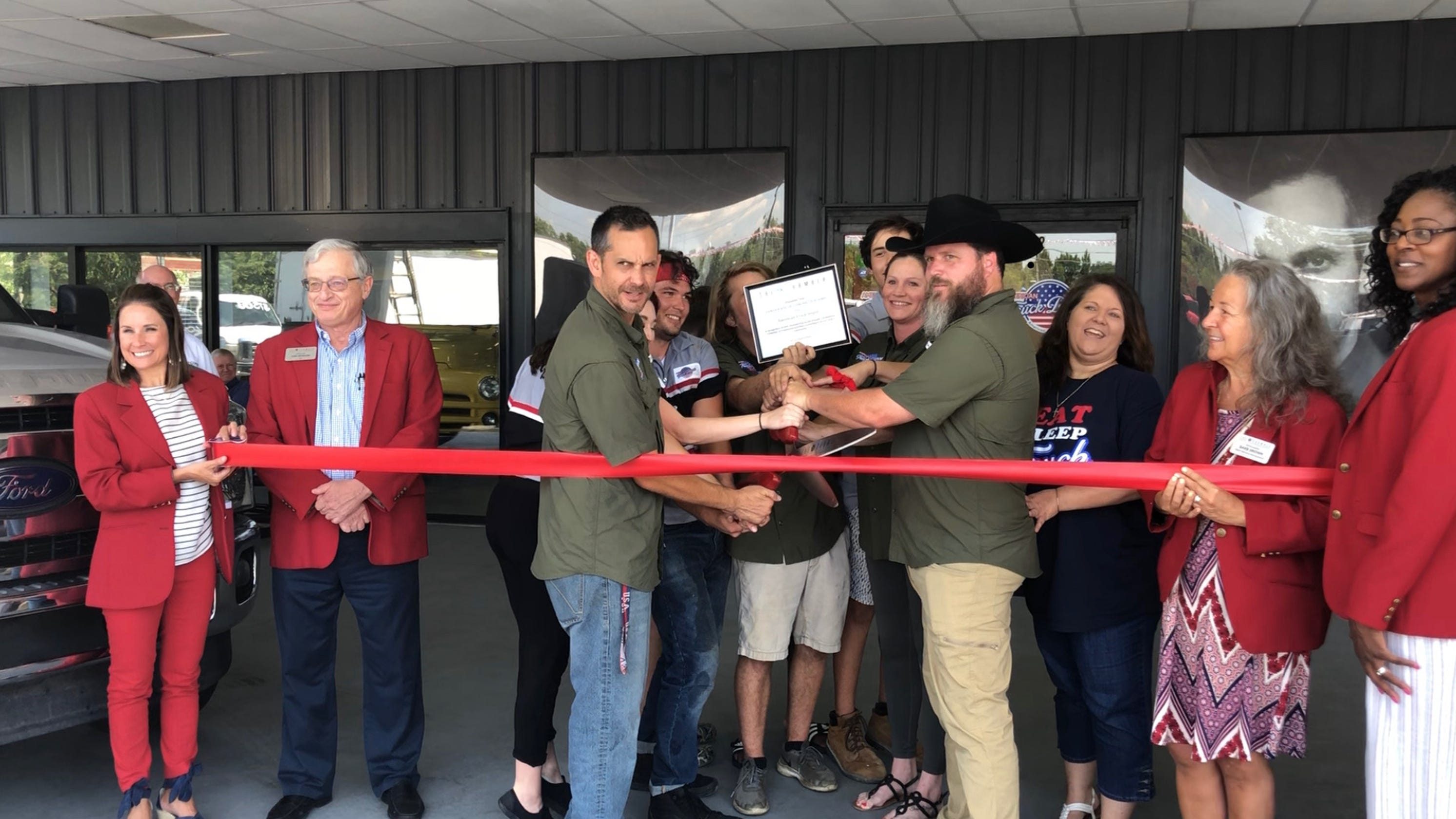 American Truck Depot opens with Prius raffle, commitment to