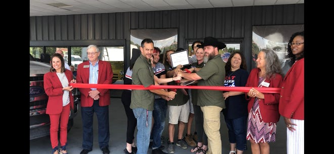 American Truck Depot celebrated a ribbon cutting at its new showroom on West Tennessee.