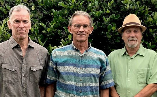 Mark Leadon, Bill McGuire and Dave Langston play Blue Tavern on Thursday.