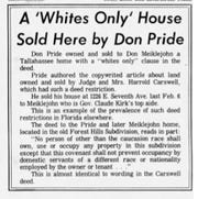 This story ran in the Tallahassee Democrat on Feb. 13, 1970.