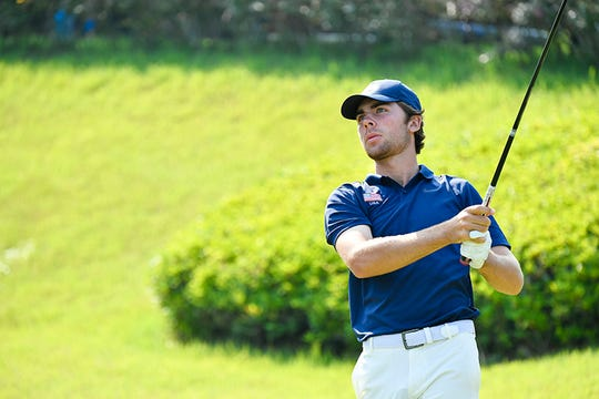Alex Vogelsong, 18, of Palm City, competes in the Toyota Junior Golf World Cup on June 20, 2019, in Toyota, Japan.