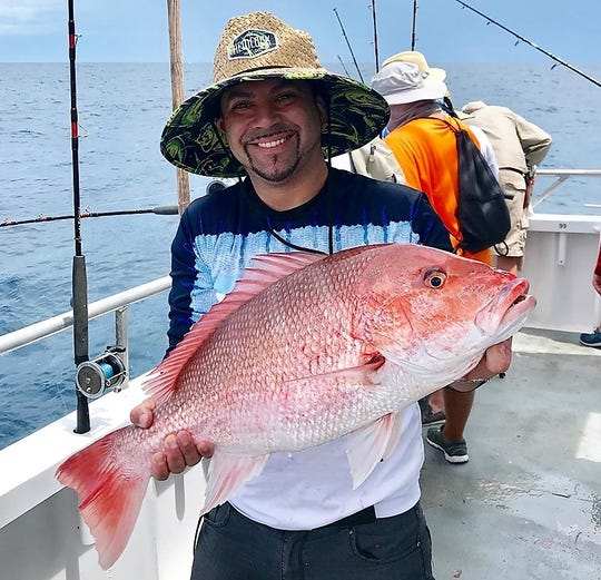 Red snapper must be thrown back for another week. The five harvest dates for Atlantic anglers are July 12-14 and 19-20.