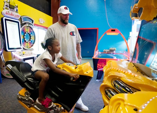 Sweet Retreat Fun Center offers a game room with arcade games, air hockey and laser tag.