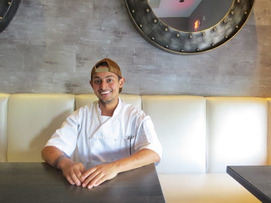 Abdu Romero, executive chef at Slate Bistro + Bar in Camarillo, will roll out the restaurant's first Sunday brunch menu on July 14.