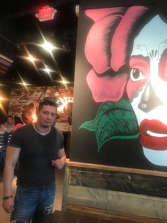 Milton Torres, owner of Tipsy Taco Bar in Mount Kisco.