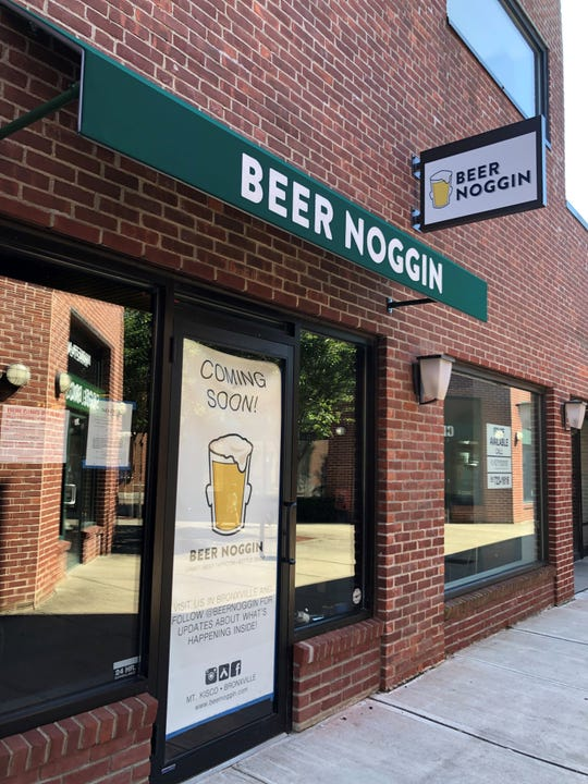 Beer Noggin, which has been in Bronxville for four years, is opening a second location in Mount Kisco.