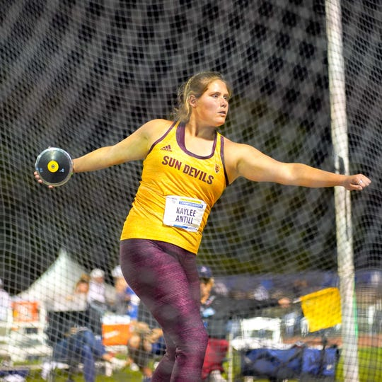 The only state track champion in Tri-Valley history, Kaylee Antill, just wrapped up her third year at Arizona State, where she again qualified for the NCAA national meet and helped the Sun Devils win an outdoor Pac-12 title. This, despite health problems that hindered everything, on and off the track.