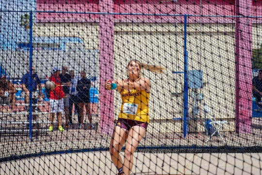 Kaylee Antill  has twice been named to the All-Academic team by the Mountain Pacific Sports Federation and twice earned All-MPSF in the weight throw during the indoor season. As a redshirt freshman, she posted the seventh-best hammer throw ASU history (198-4).