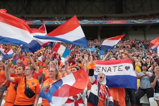 Netherlands fans are fantastic.