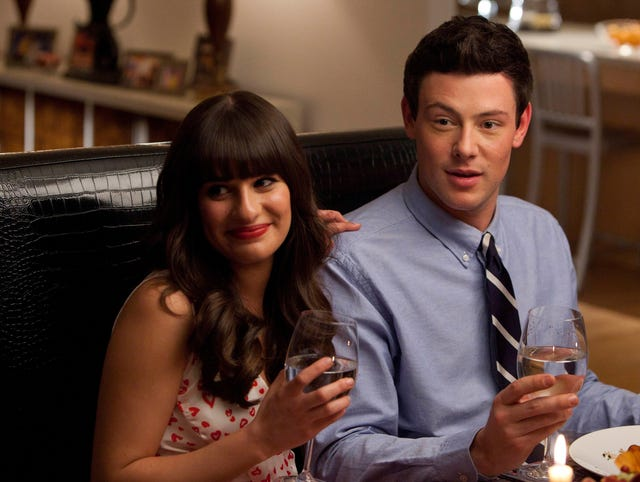 Lea Michele shows off her Cory Monteith tribute ink in