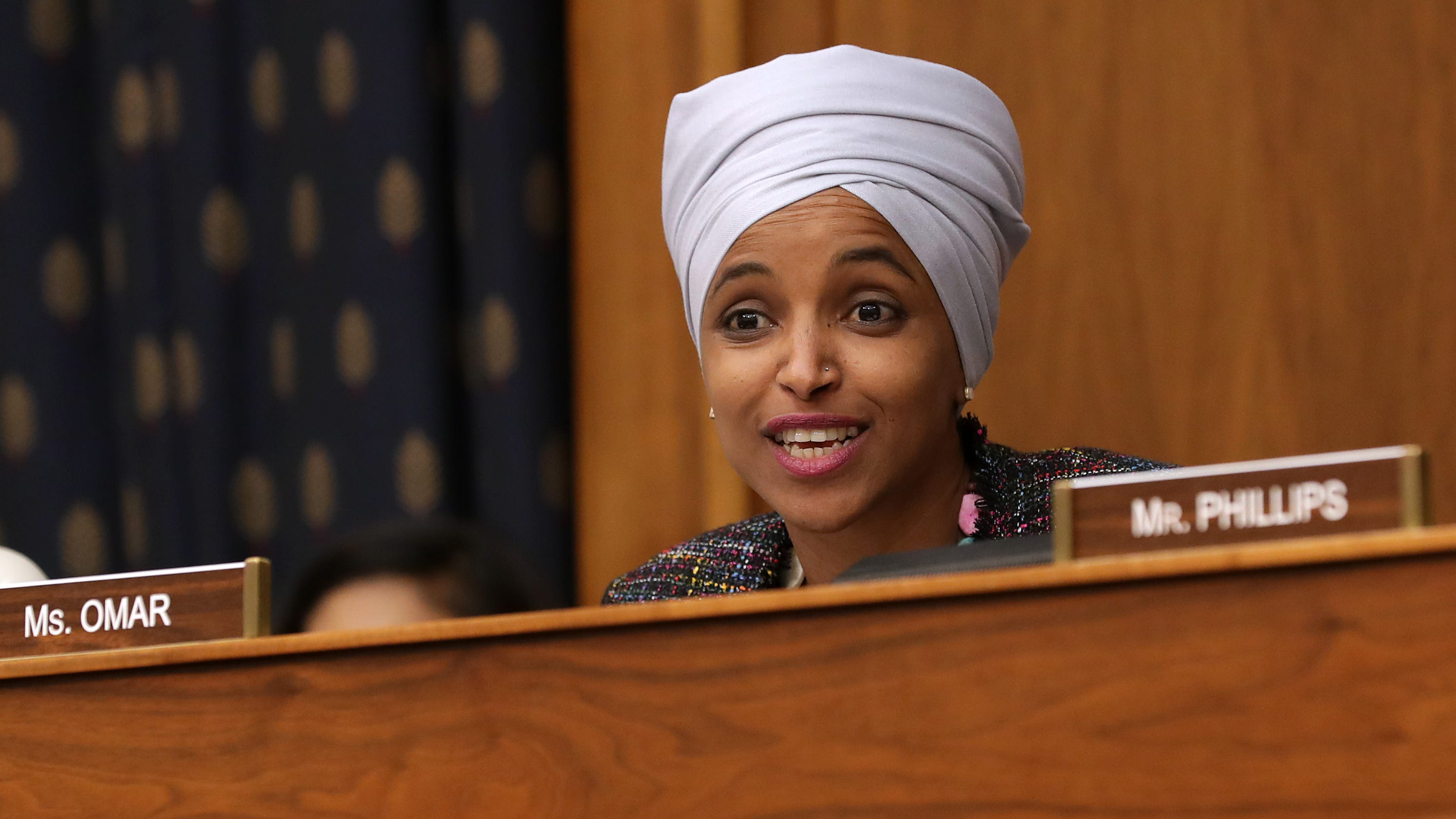 Fact check: Trump's false claims about Rep. Ilhan Omar