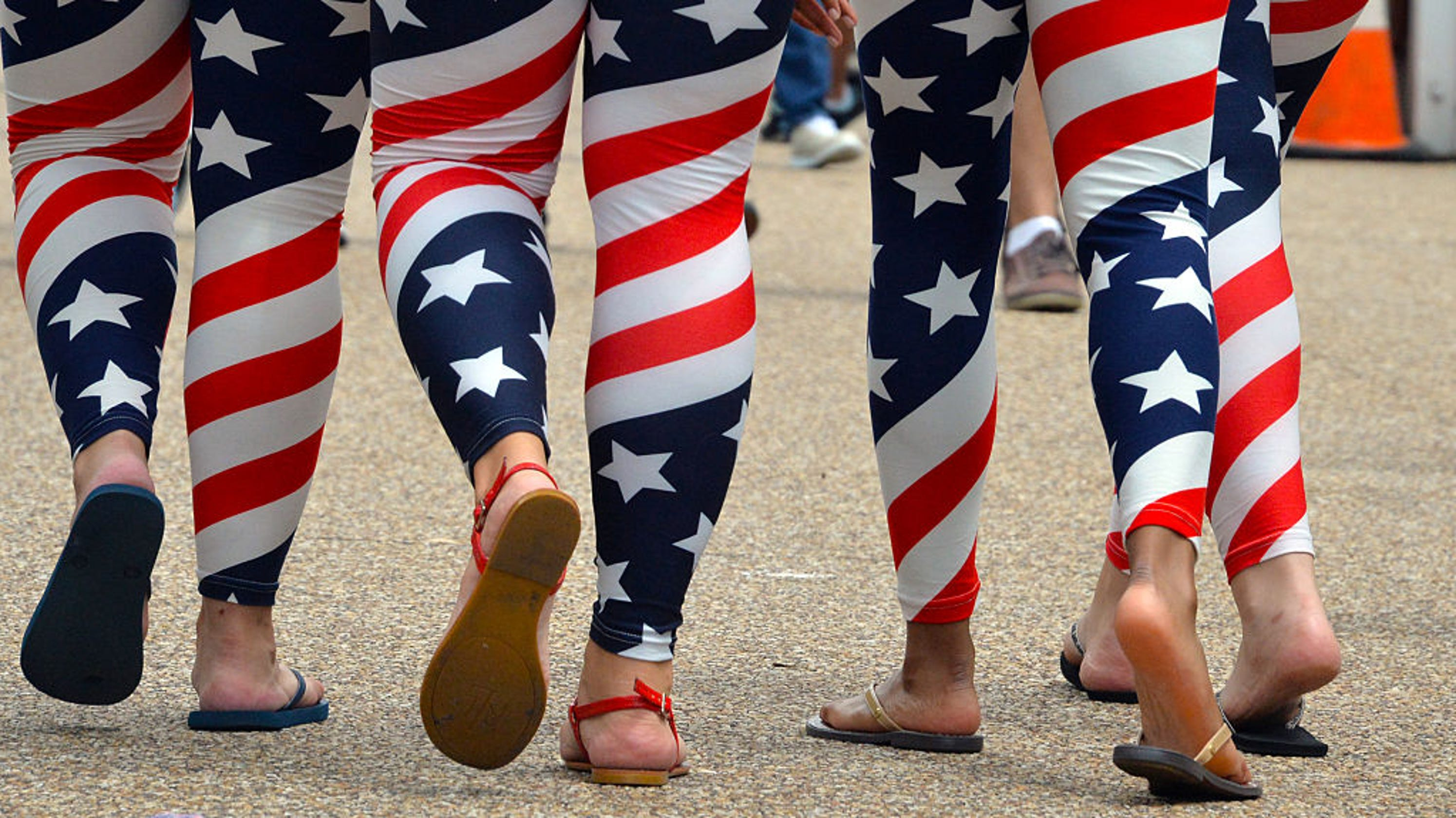 The American flag clothes you're wearing for the Fourth of July are technically illegal thumbnail