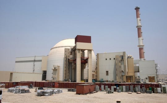 A general view of an Iranian nuclear power plant in Bushehr, southern Iran, on Aug. 21, 2010.