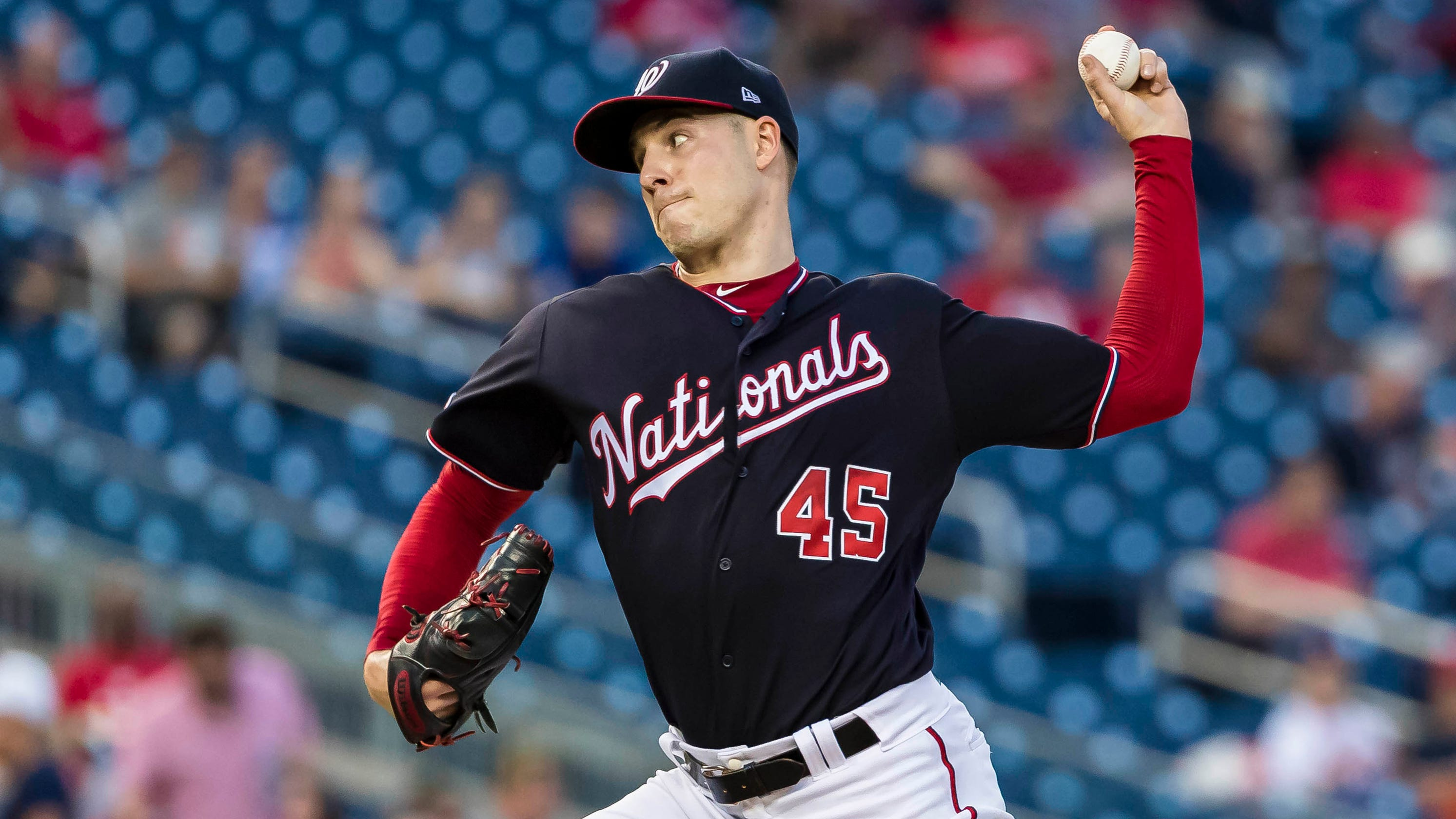 sale retailer 5c8f5 44109 Patrick Corbin has gutsy pitching performance in honor of ...