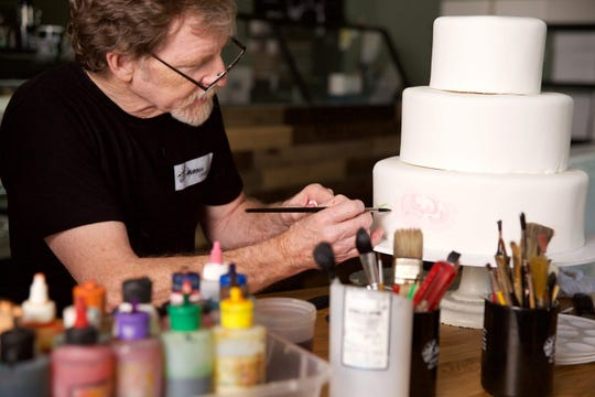 Baker Jack Phillips at Masterpiece Cakeshop in Lakewood, Colorado, in December 2017.