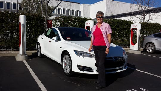 San Diego area resident Elaine Borseth has been driving a Tesla Model S P95D ultra-luxury sedan for the last four years.