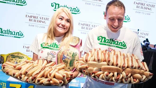Weigh In For Annual Nyc Hot Dog Eating Contest