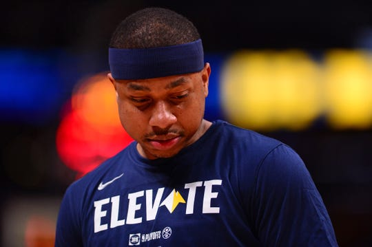 Denver Nuggets guard Isaiah Thomas