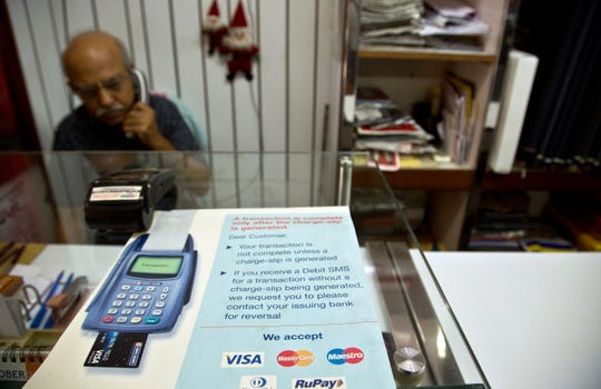 In India, where many people don't use traditional banking accounts.